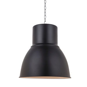 Otto industrial style ceiling pendant light with copper interior -T01-0023 670X670