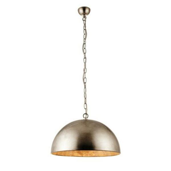 silver leaf metal ceiling pendant T54-0036SL