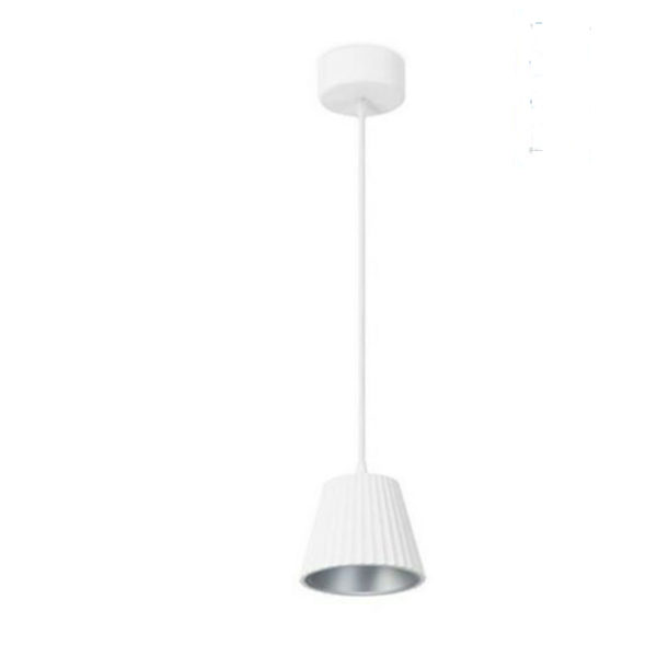 white and grey cup ceiling pendant B90-00-5362GR