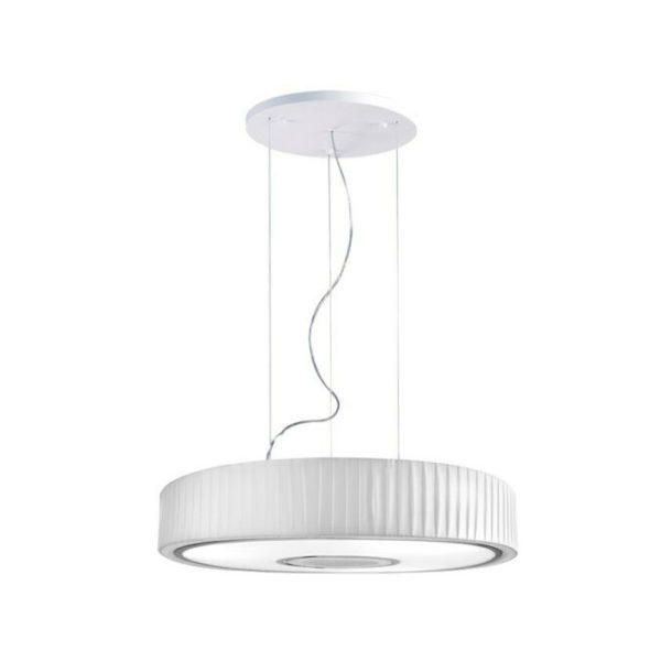 white spin fabric ceiling pendant B90-00-4601WH