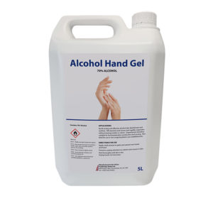 VEWhygiene 5 litre alcohol hand gel or liquid
