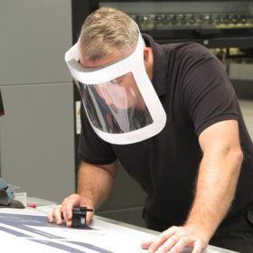 Vewhygiene face visor shield