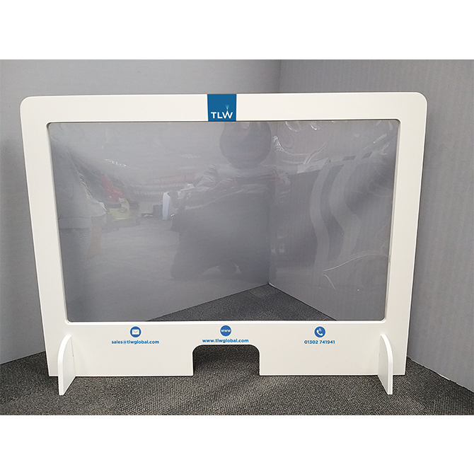 branded protective sneeze screen 2
