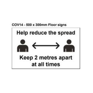 vewhygiene help reduce the spread and keep 2 metres apart coronavirus safety sign