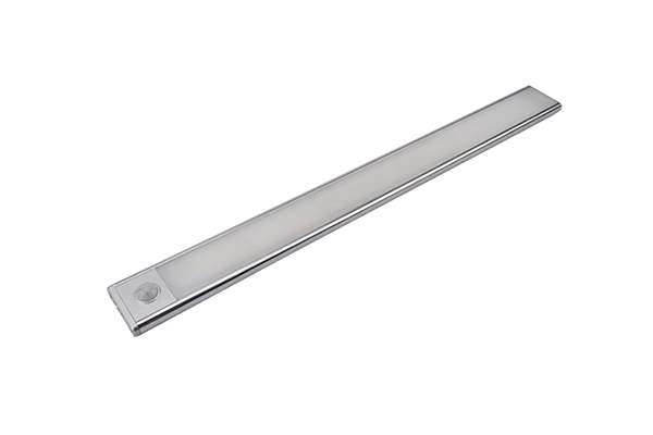 Slim rechargeable lithium bar light