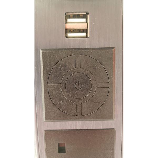 Pop up socket with Bluetooth speaker N28-0200 1