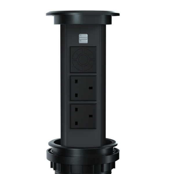 motorised pop up socket N28-0200 2
