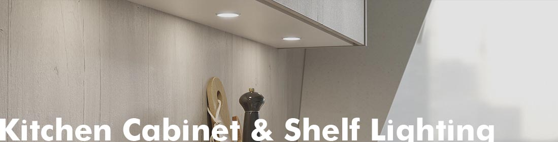 Kitchen Cabinet and shelf lighting