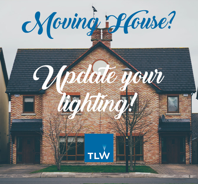 Moved house? Update your lighting